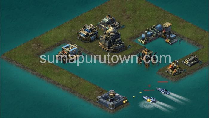 ブラックアイアン:逆襲の戦艦島の遊び方
